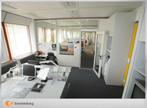 Redaktionsräume der Sendeleitungen