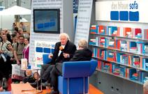 Martin Walser mit Wolfgang Herles auf dem Blauen Sofa